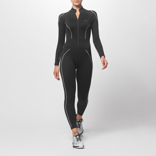 Peak Jumpsuit - Blackwidow Night/Light Grey