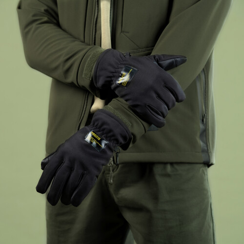 Army Insulated Gloves - Anti-frost Stealth Black