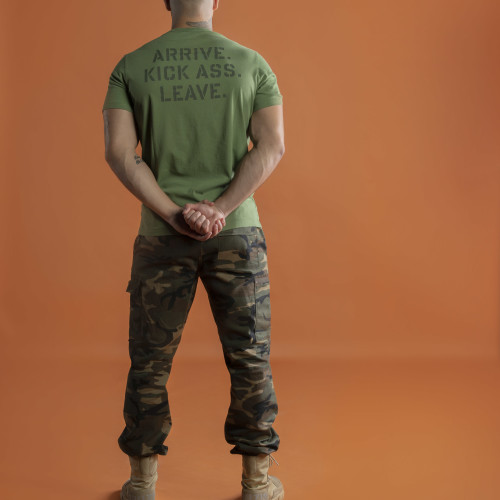 Army Kick Ass T-Shirt - Green