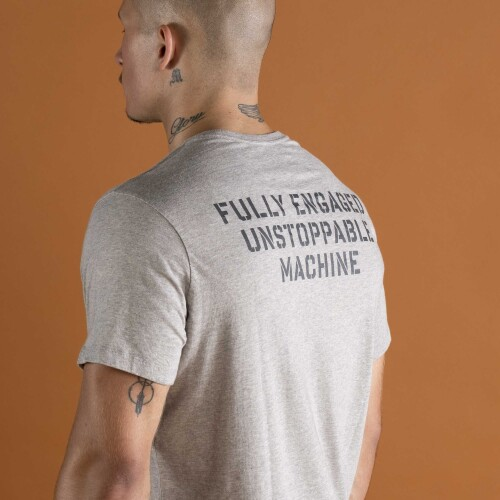 T-Shirt Army Unstoppable - Grey