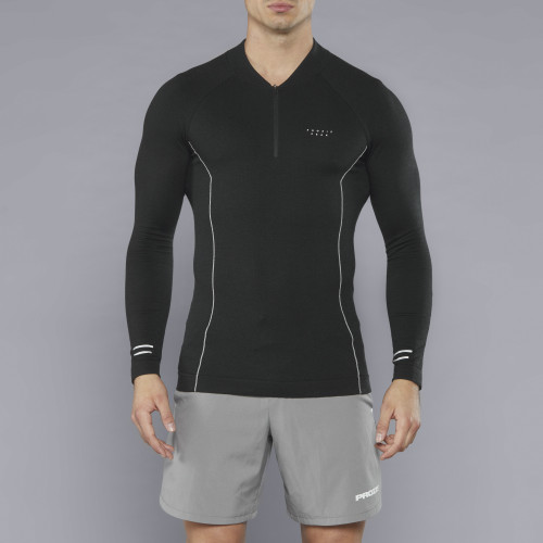 Peak Kojima Langarm Baselayer - Night/Grey