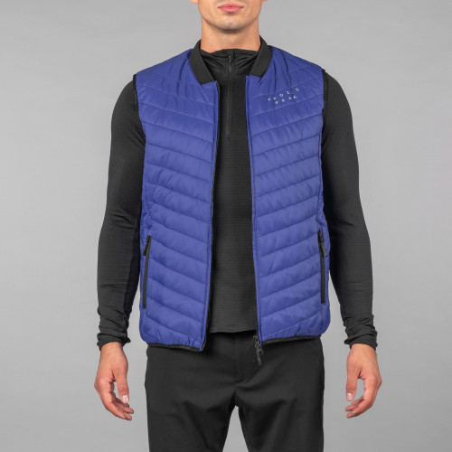 Gilet Doudoune Peak - Powerliner Blue