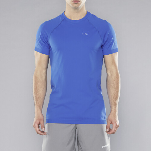 Peak Warp T-Shirt - Shock Blue