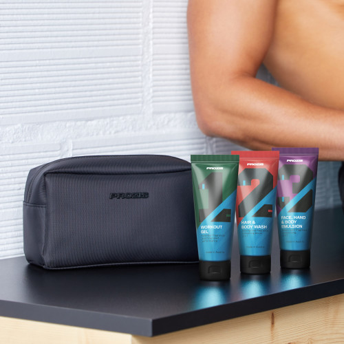 1-2-3 SportSkin Kit + Peak Wash Bag