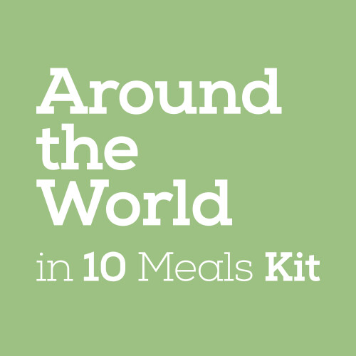 Around the World in 10 Meals Kit