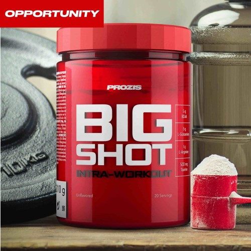 Big Shot - Intra-Workout 20 servings Opportunity