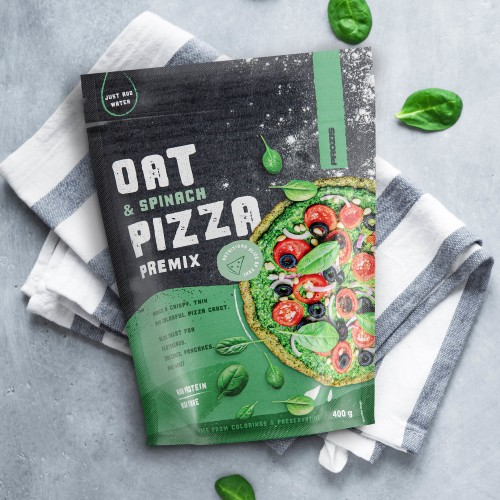 Oat & Spinach - Pizza Premix 400 g