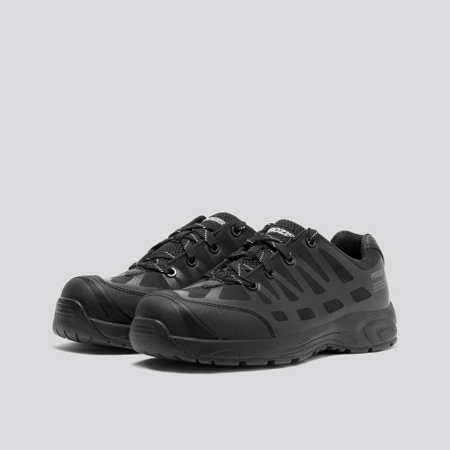 Army Safety Sneakers - Black
