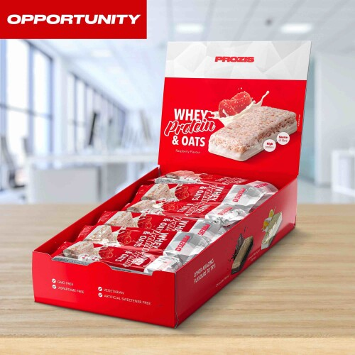 12 x Whey Protein & Oats 80 g Opportunity