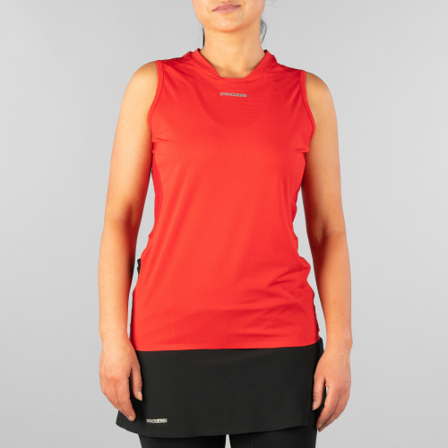 X-Motion Trail Sleeveless T-Shirt - Falcon W Red