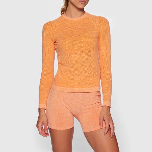Maillot de Corps à Manches Longues Crush Alpine - Orange