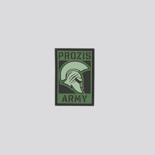 Army Spartan Patch - Olive Green