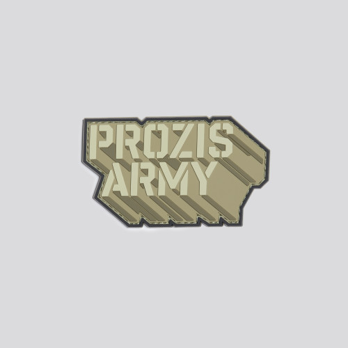 Army Motion Patch - Desert Brown