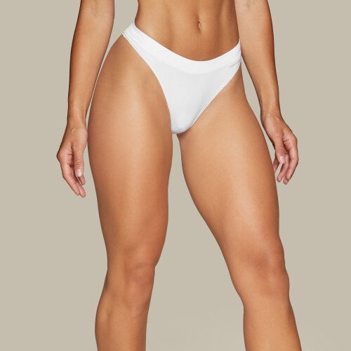 Seamless Thong - White
