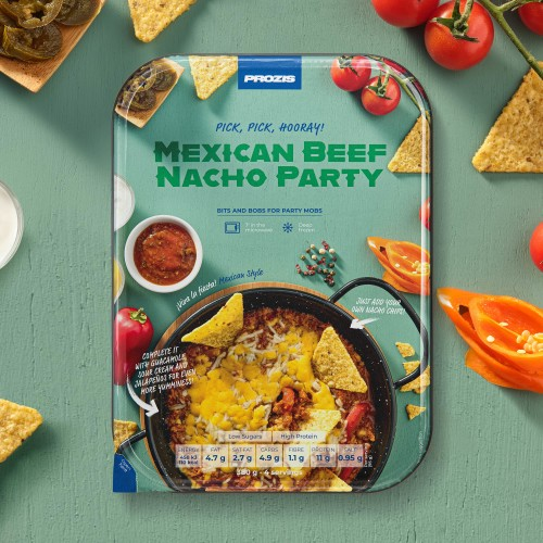 Mexican Beef Nacho Party