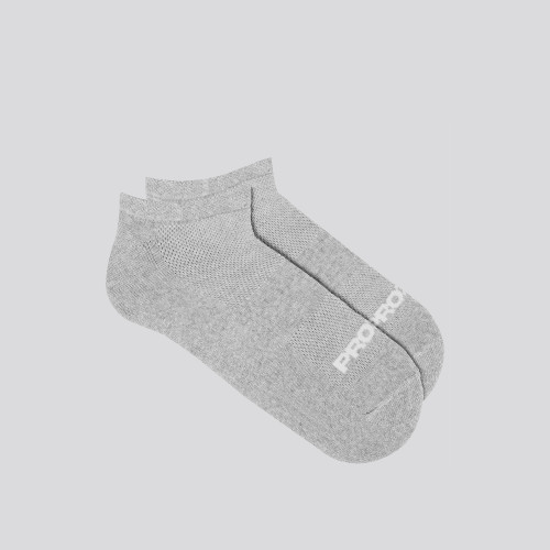 24/7 No Show Socks - Gray