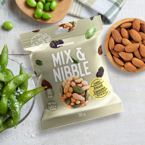 Mix & Nibble 30 g - Almond, Edamame, Cranberry & Protein Balls