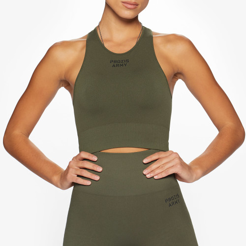 Army Standard Issue Sports Bra - Green