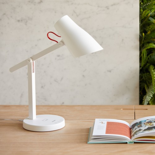 Ion - LED Table Lamp + Wireless Charger