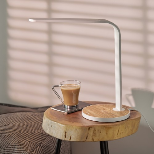 Ray - LED Table Lamp + Wireless Charger
