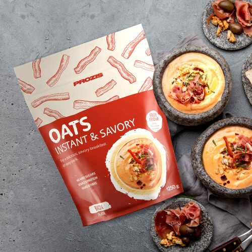 Savory Instant Oats 1250 g