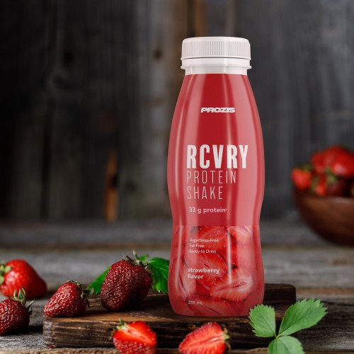 RCVRY Protein Shake - Strawberry 330 ml