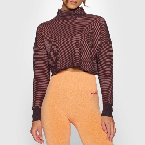 X-Skin Star Crop Sweater - Fig