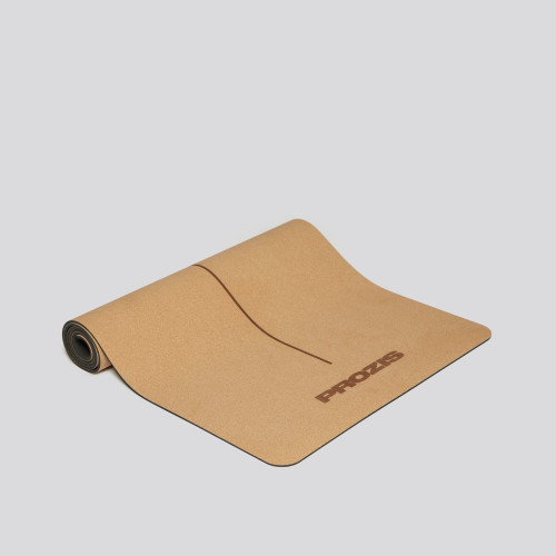 Balance Cork Mat - Natural Cork/Black