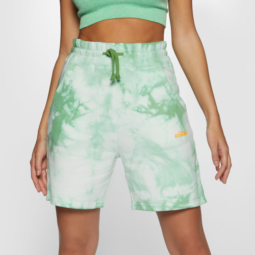 Crush Numero Uno Jogger Shorts - Tie-Dye Green
