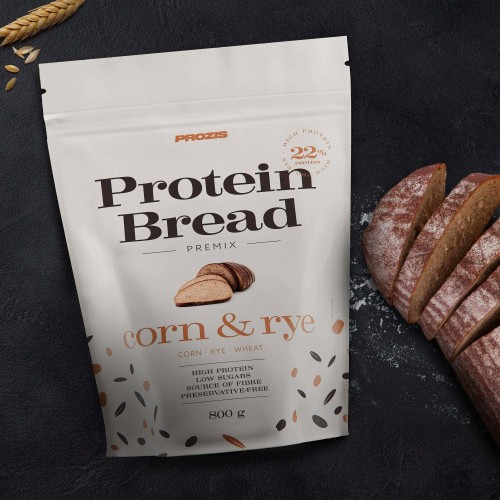 Protein Bread Premix - Corn and Rye Bread 800 g