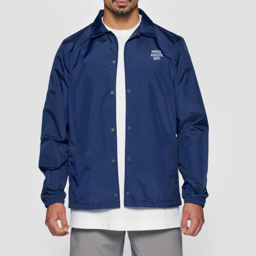 Athletic Dept. Slugger Coach Jacket - Navy