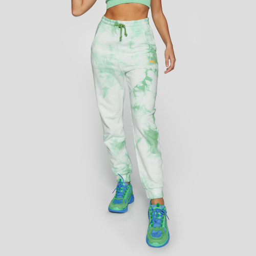 Crush Numero Uno Jogger Pants - Tie-Dye Green