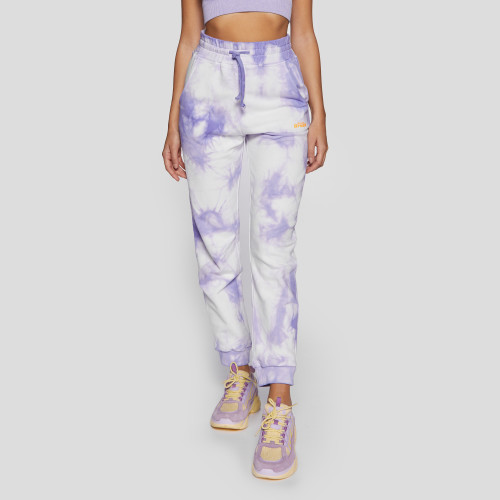 Crush Numero Uno Jogger Pants - Tie-Dye Purple