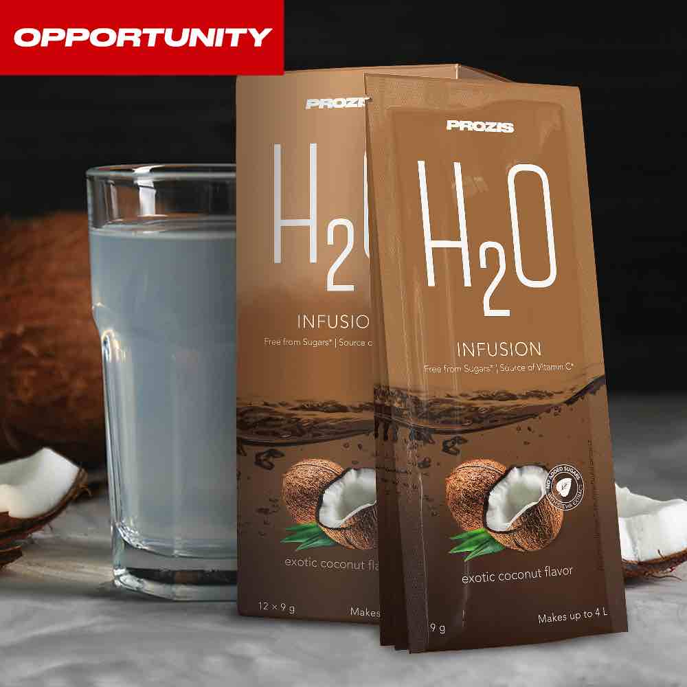 12 x H2O Infusion 9 g Opportunity