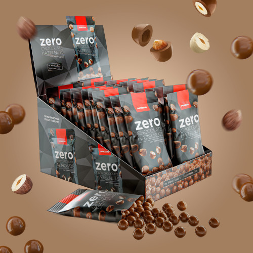 22 x Avellanas con chocolate Zero 40g