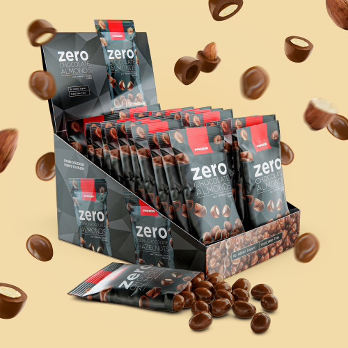 22 x Zero Chocolate Almonds 40g