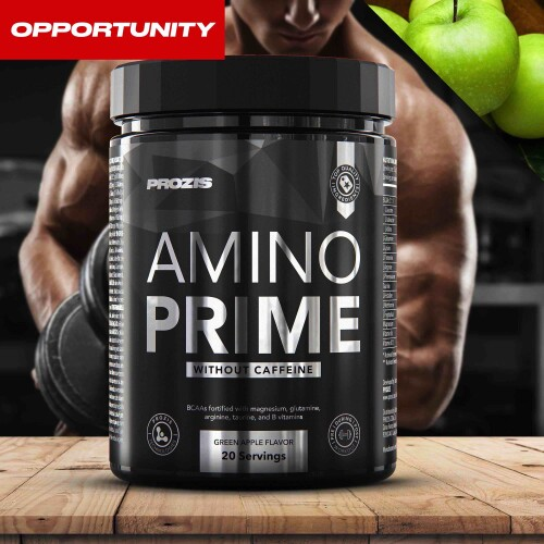 Amino Prime Caffeine Free 20 Servings Opportunity
