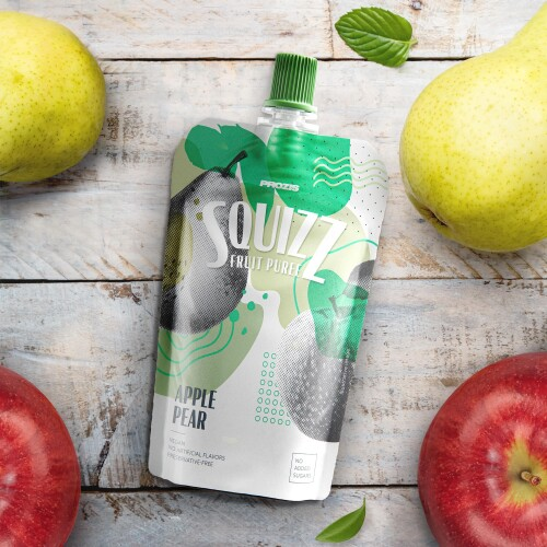 Squizz - Fruit Puree - Apple Pear 100 g