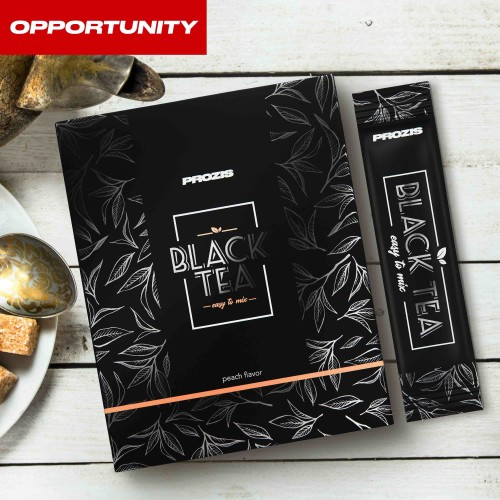 12 x Black Tea - Instant Powder stick 3 g Opportunity