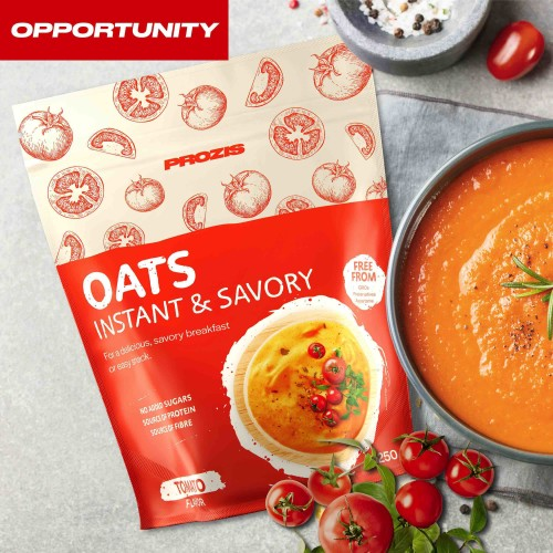 Savory Instant Oats 1250 g Opportunity