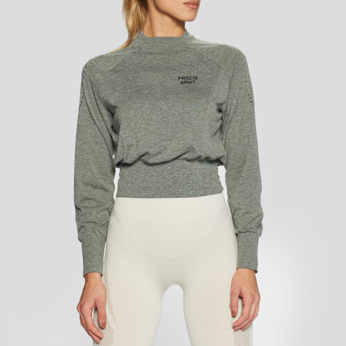 Army Ranger LS Crop Sweatshirt - Green