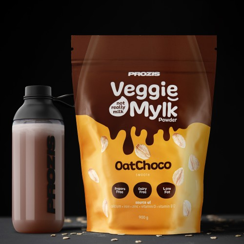 Veggie Mylk Powder - Aveia e Chocolate 900 g
