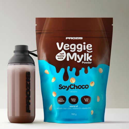 Veggie Mylk Powder - Soja e Chocolate 900 g