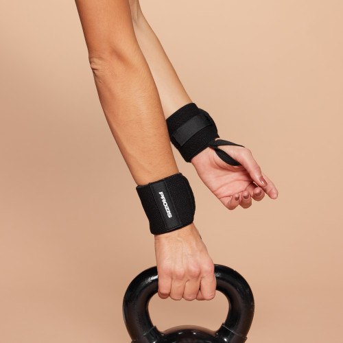 Wrist Wraps - Pair (2) Black