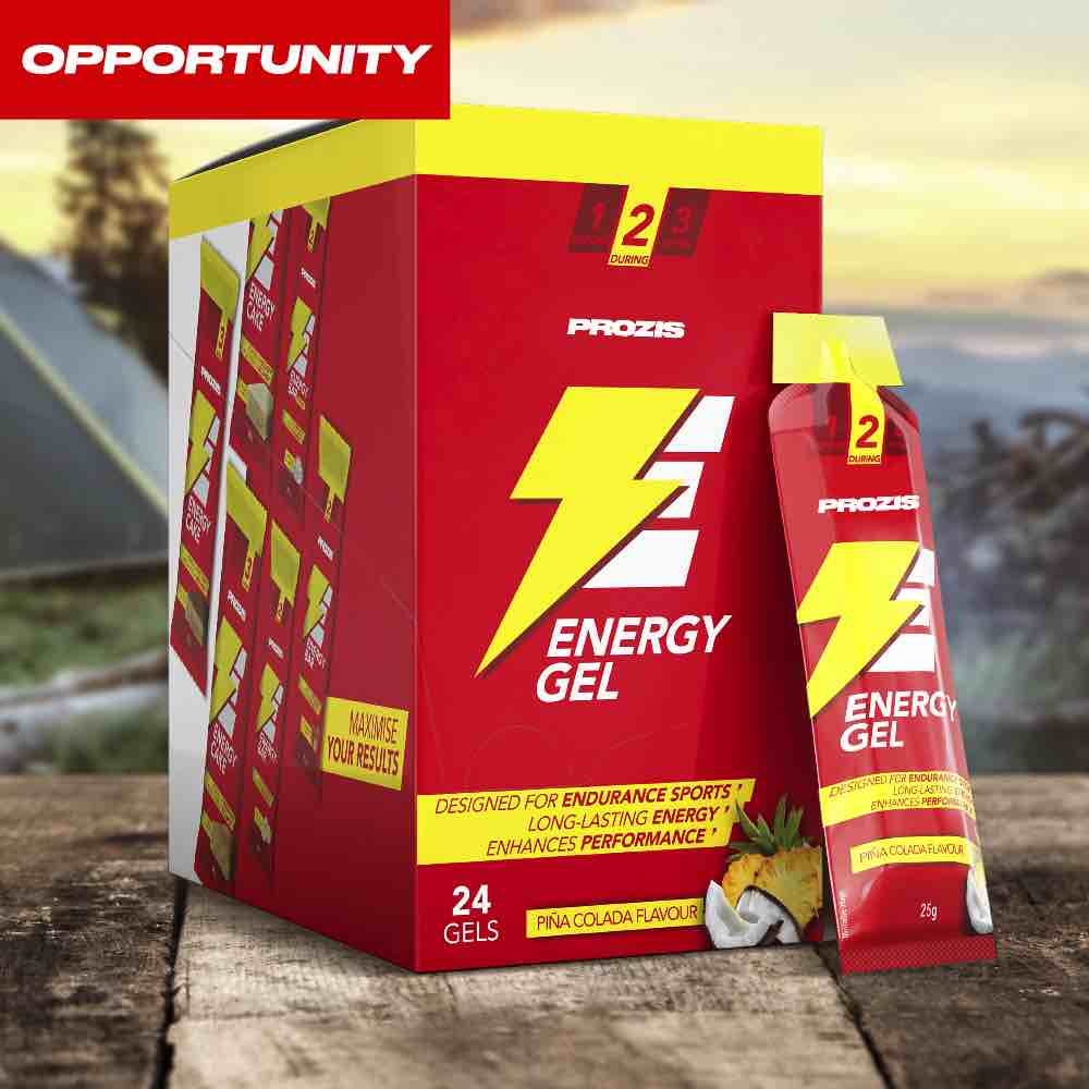 24 x Energy Gel 25 g Opportunity