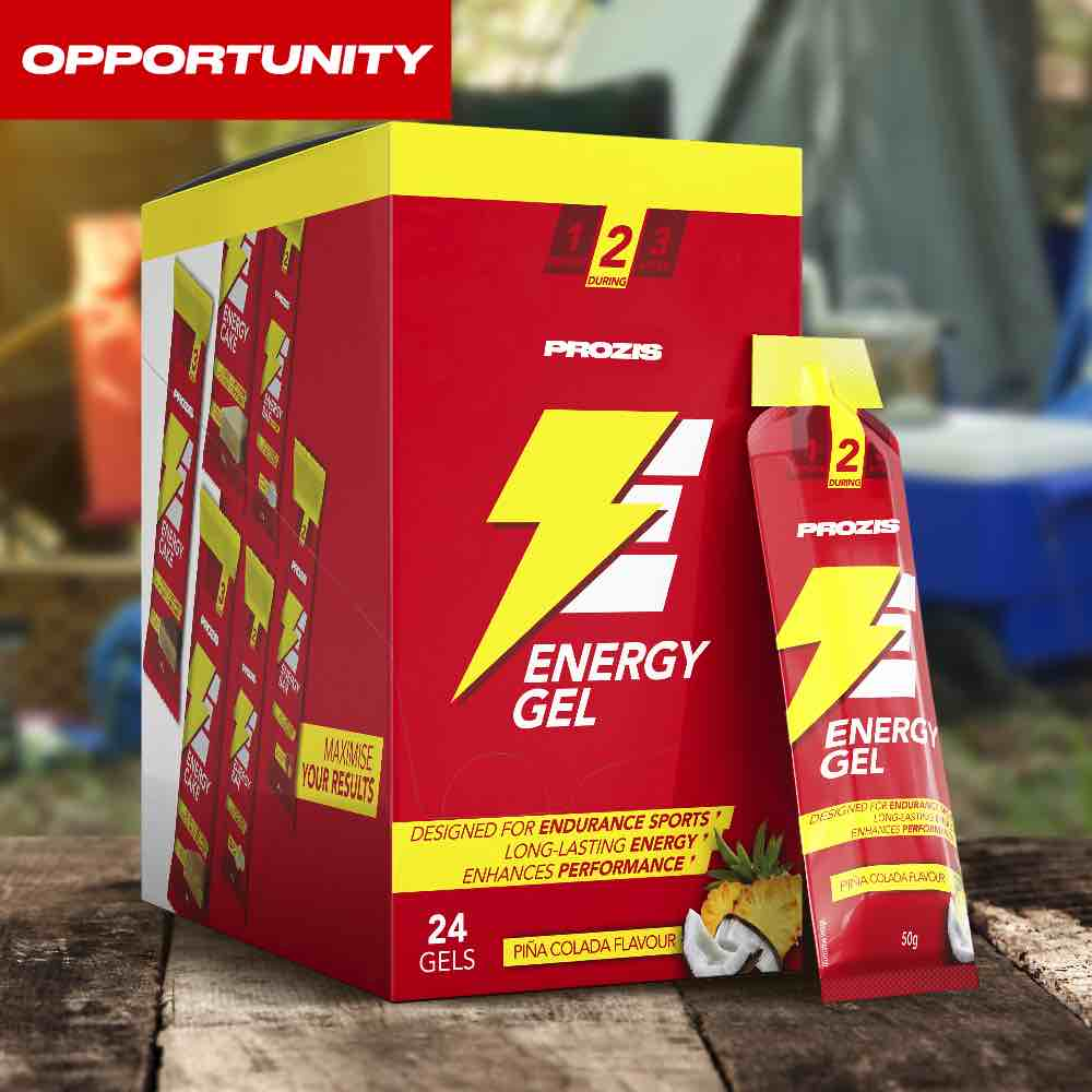 24 x Energy Gel 50 g Opportunity