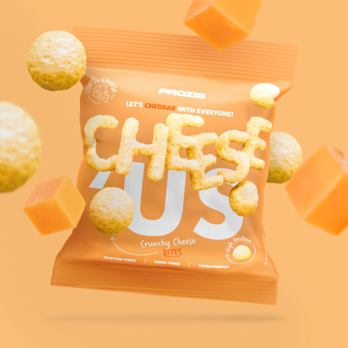 Cheese'Us - Snack Croustillant au Fromage - Cheddar