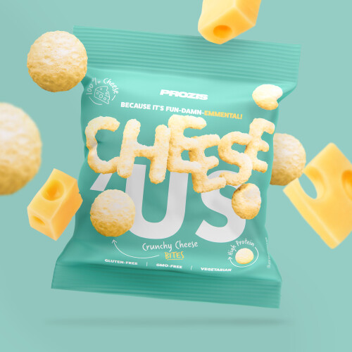 Cheese'Us - Snack Croustillant au Fromage - Emmental