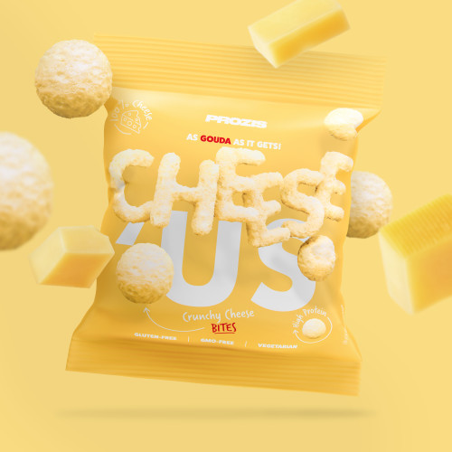 Cheese'Us - Snack Croustillant au Fromage - Gouda