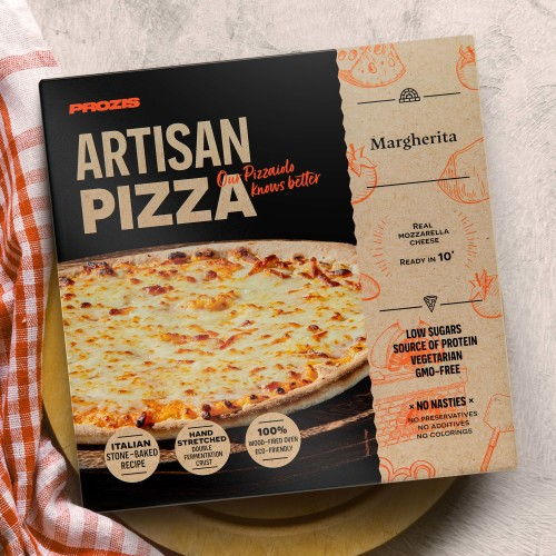 Artisan Wood-Fired Pizza - Margherita